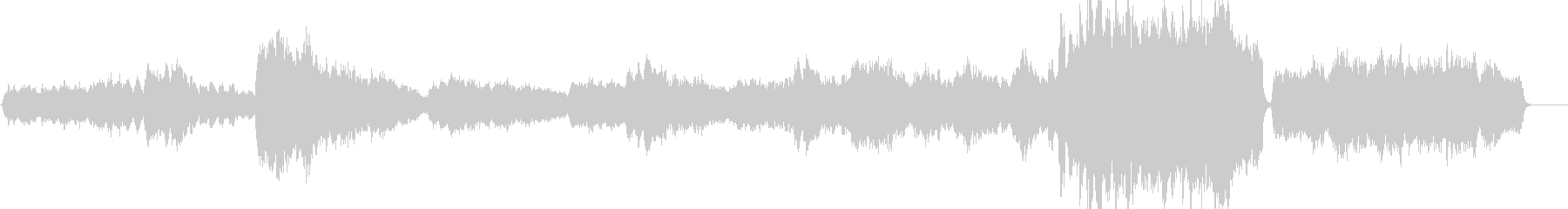 ヘンデルのオンブラ・マイ・フの未再生の波形