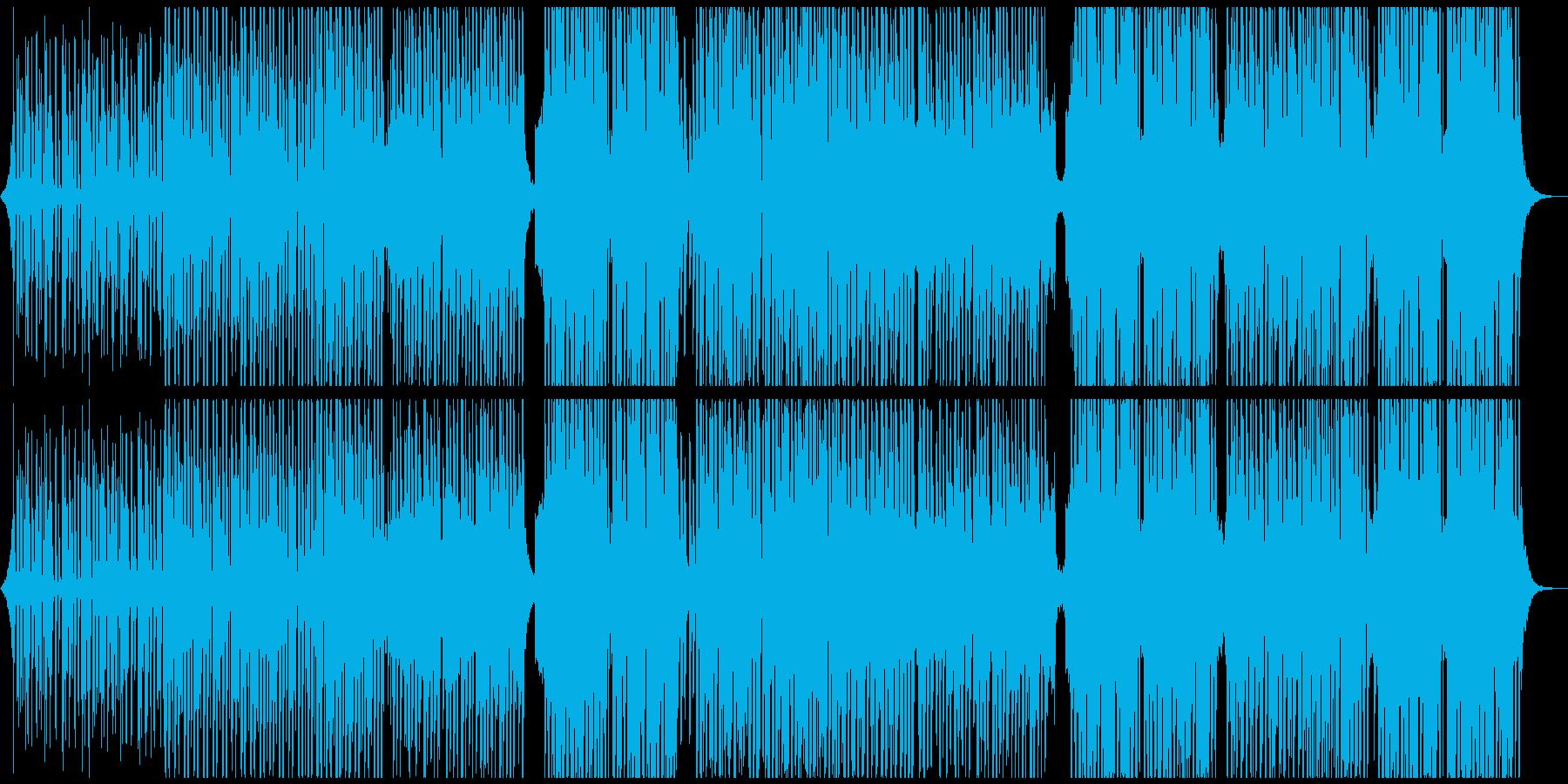 ほのぼの、可愛い、でもカッコイイの再生済みの波形
