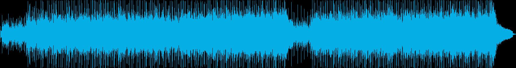 アップビート・ビンテージ・ポップの再生済みの波形