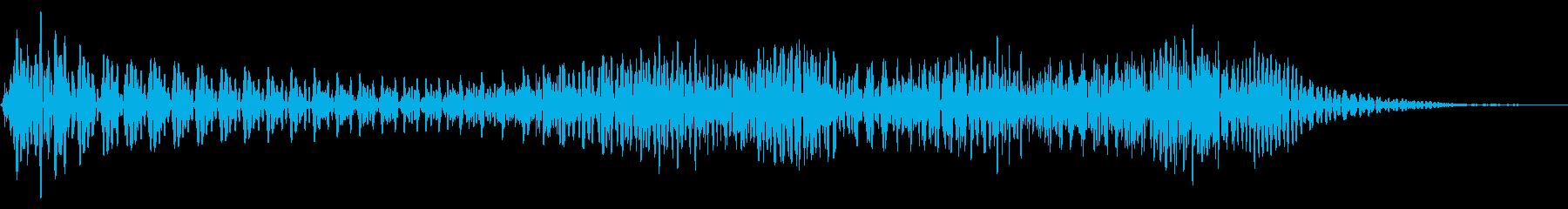 ドゥーン 上昇 ウッドベースの再生済みの波形