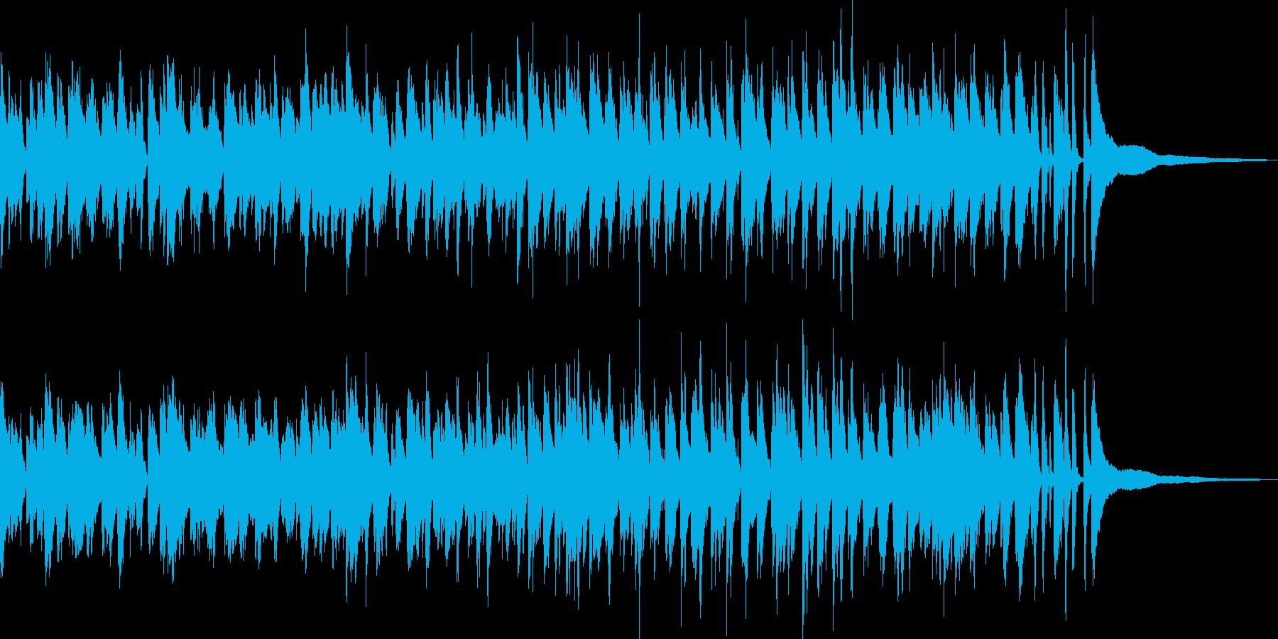 爽やかなラウンジ風ボサノバ/ピアノトリオの再生済みの波形