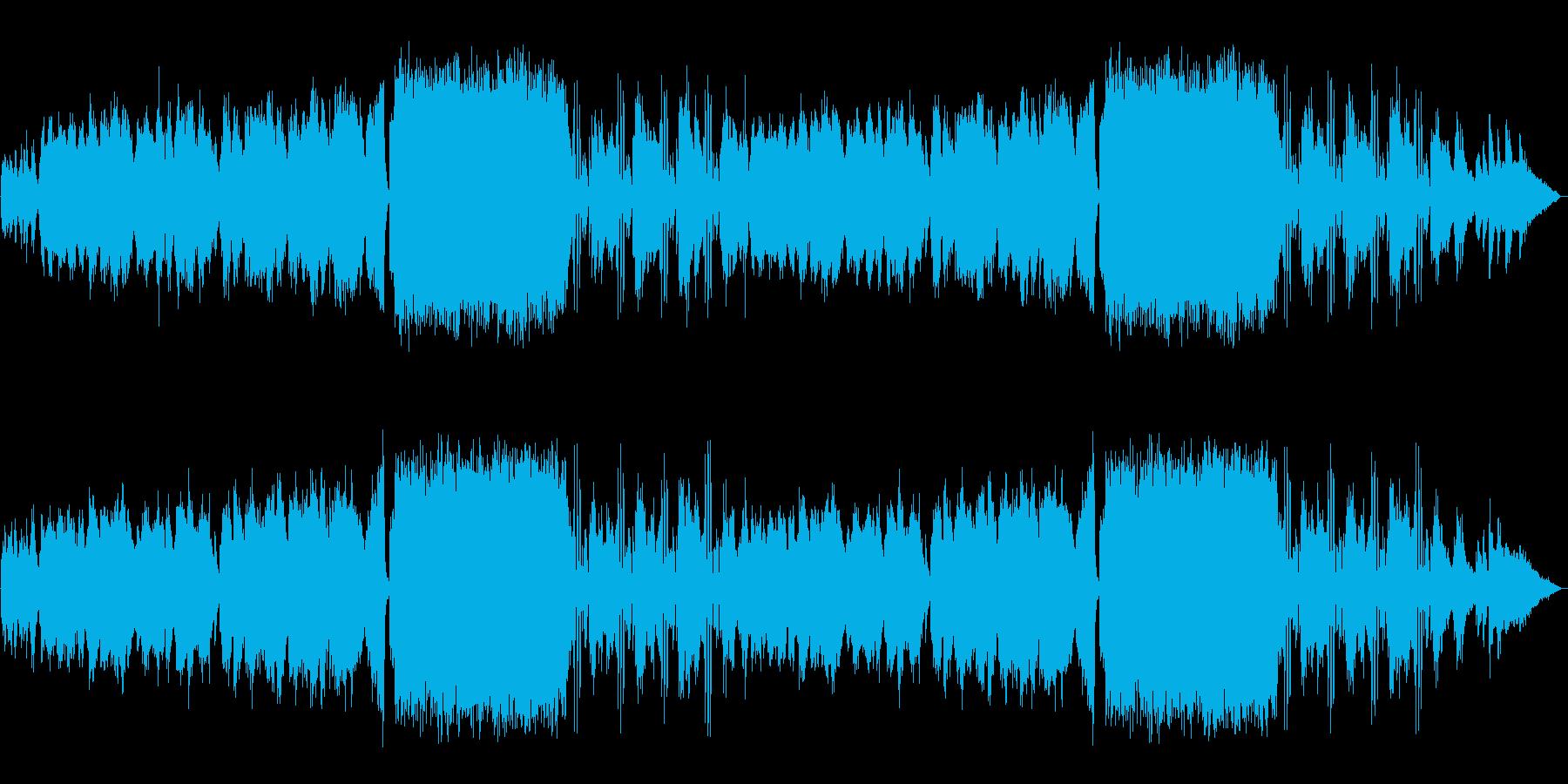 【生演奏】美しく情熱的なバイオリンの再生済みの波形