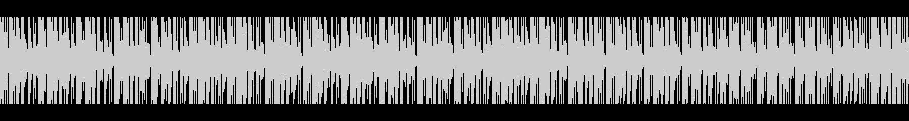レトロ&コミカル ゆるダサなシンセポップの未再生の波形