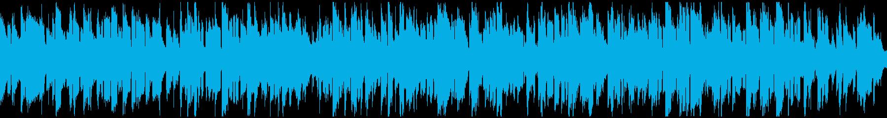 珍しいリコーダーのジャズ ※ループ仕様版の再生済みの波形