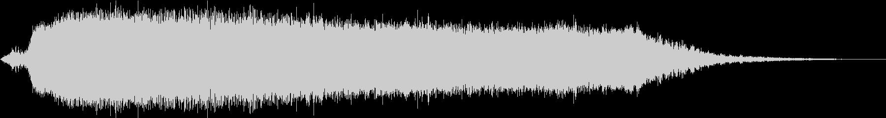 KANT怪獣の鳴き声Long3の未再生の波形