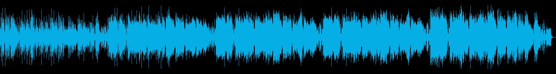 ピアノ中心の誕生日をイメージした弾む楽曲の再生済みの波形
