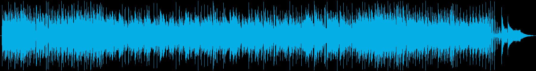 もの悲しいBossa Novaの再生済みの波形