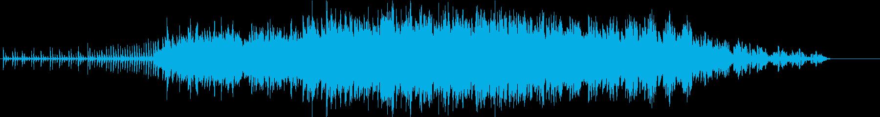 上昇感のあるエレクトロニカ、シンプルの再生済みの波形