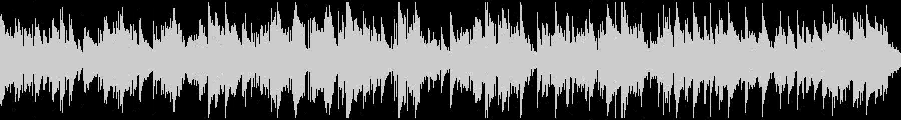哀愁、悲しみのジャズバラード ※ループ版の未再生の波形