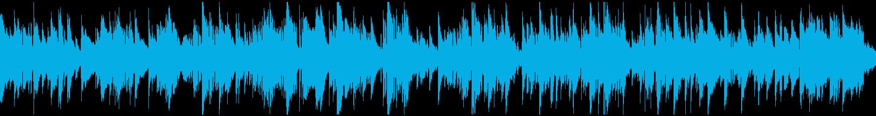 哀愁、悲しみのジャズバラード ※ループ版の再生済みの波形