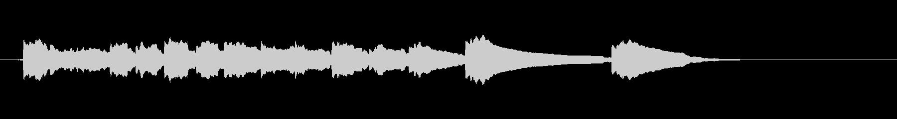 エレキギター3弦チューニング1リバーブの未再生の波形