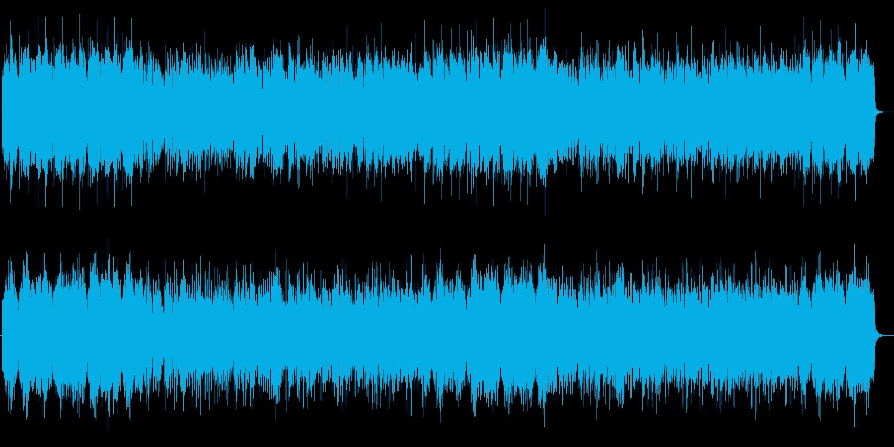 優しく可愛いシンセサイザーサウンドの再生済みの波形