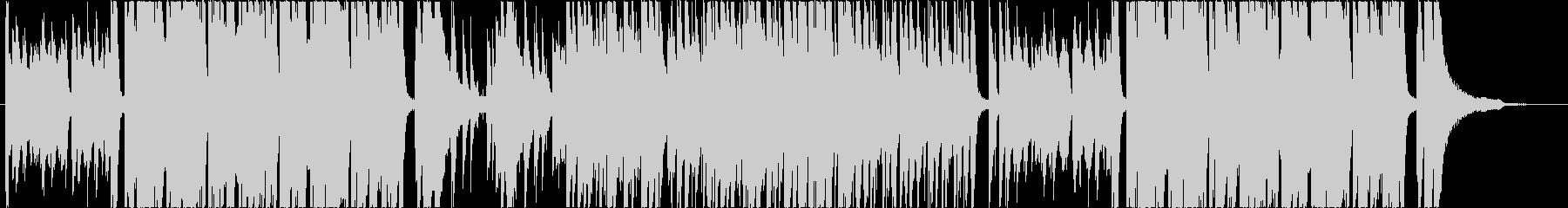 カジノ ルーレット ピアノの未再生の波形