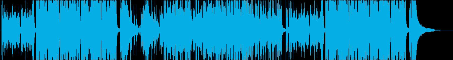 カジノ ルーレット ピアノの再生済みの波形