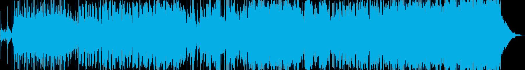 切ない雰囲気の三拍子和風楽曲の再生済みの波形
