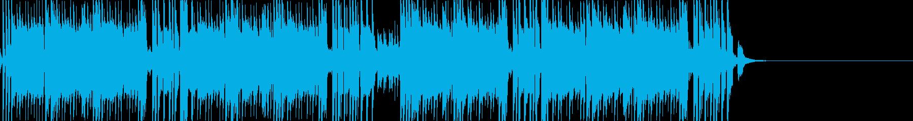 暗めの雰囲気の和風Trap-短縮版-の再生済みの波形