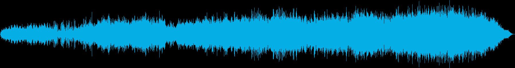 中国、東洋的な雰囲気のBGMの再生済みの波形