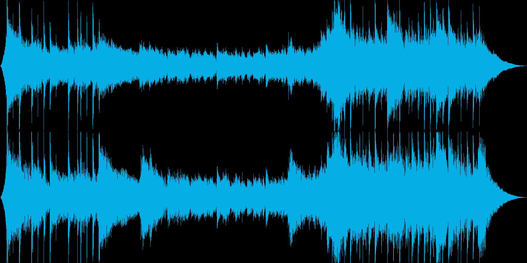 ギターベースの、軽快なロック/感情...の再生済みの波形