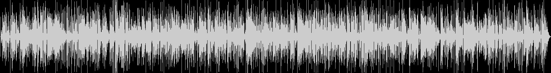 アダルトで大人なジャズバーのサックスの未再生の波形