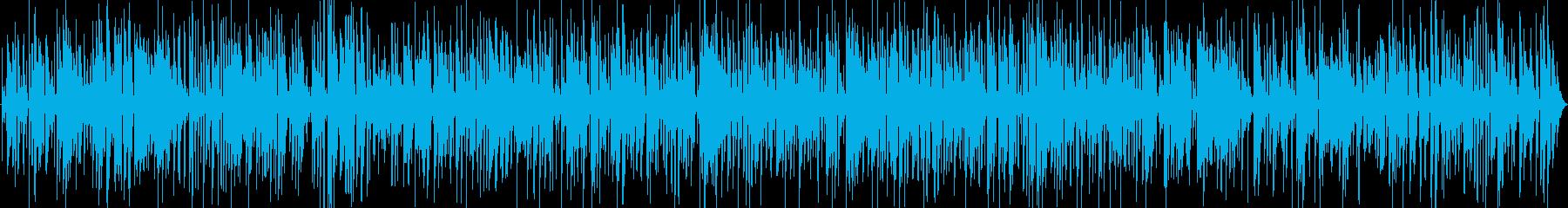 アダルトで大人なジャズバーのサックスの再生済みの波形