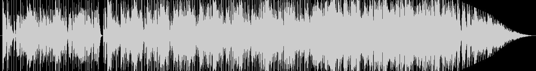 グルービーなファンク(日米にて録音)の未再生の波形