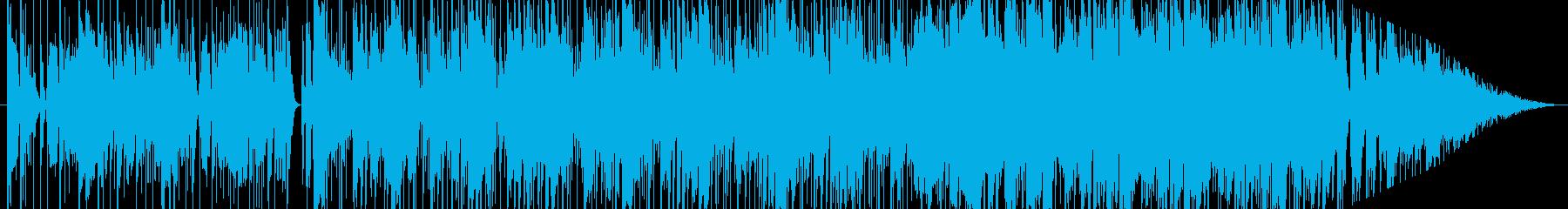 グルービーなファンク(日米にて録音)の再生済みの波形
