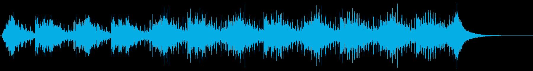 【リズムのみ・短尺】和楽器の迫力BGMの再生済みの波形