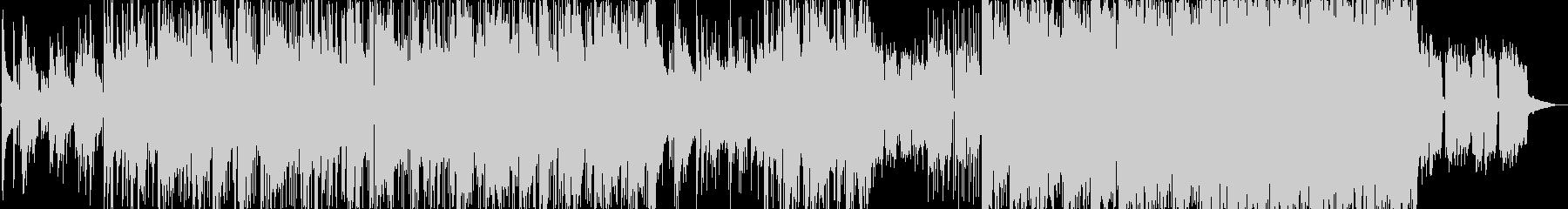 穏やかで優しいエレクトロニカ曲の未再生の波形