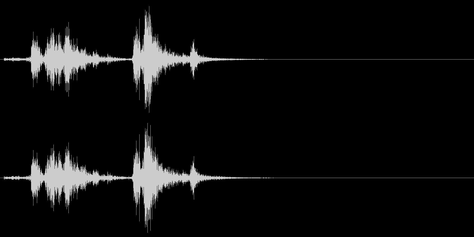 [生音]カシャッ、銃弾を装填する音03の未再生の波形
