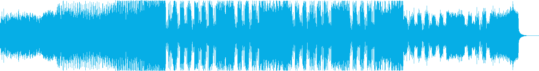 企業VP、CM系EDM 3の再生済みの波形