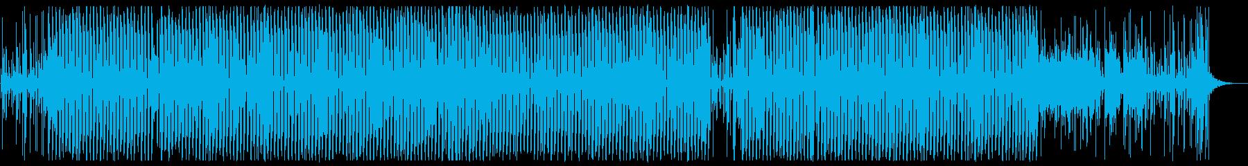 浮遊感のあるハウス・テクノの再生済みの波形