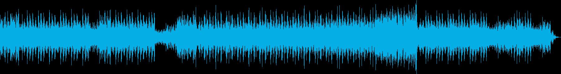 緊張感のあるラテンファンクの再生済みの波形