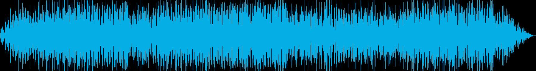 ケルト風・スタイリッシュ・ゲーム曲の再生済みの波形