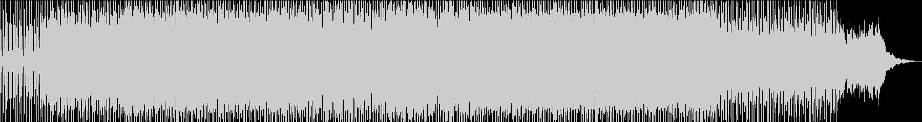 ノスタルジックなアイリッシュケルト風音楽の未再生の波形