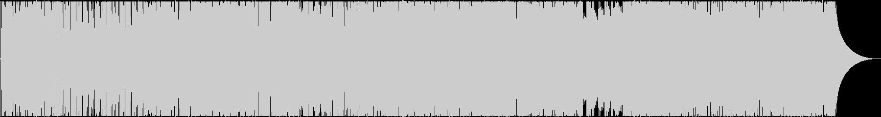 トロピカルで明るく元気なピアノポップスの未再生の波形