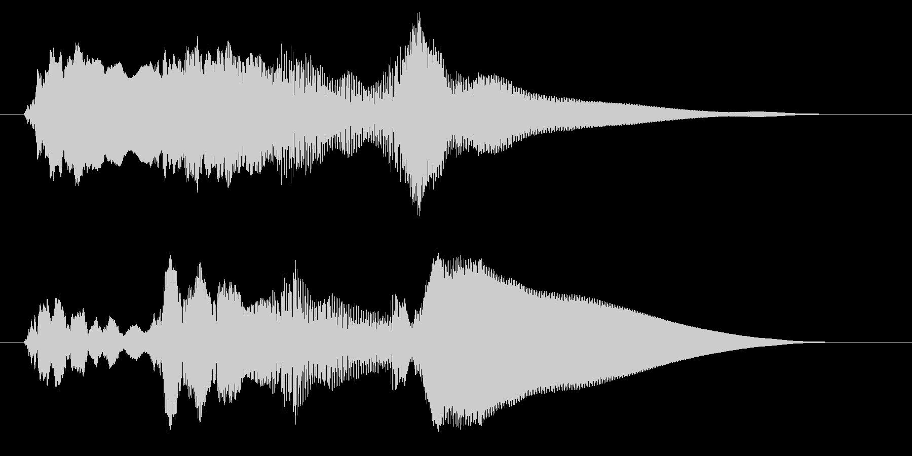 チャイム アナウンス06-6の未再生の波形