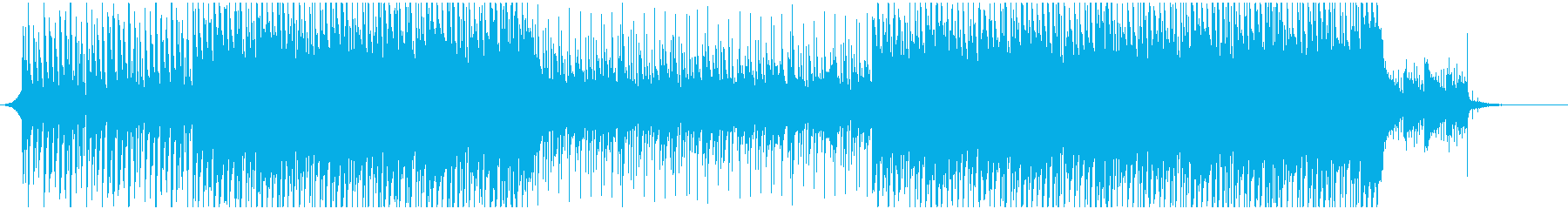 Opening refreshing feeling for commercials and corporate VPs's reproduced waveform