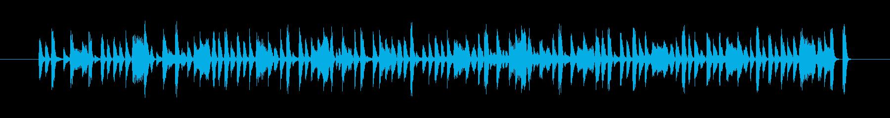 アンビエントな和風エレクトロの再生済みの波形