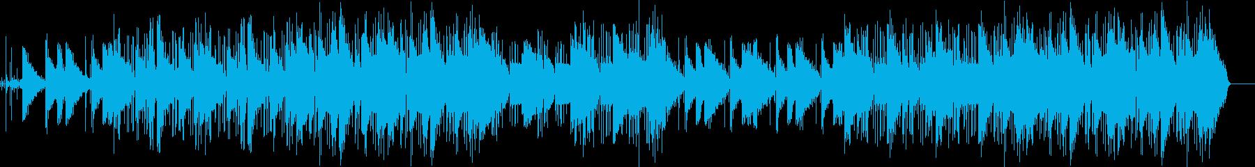 ポップ テクノ 透明感 電気ピアノ...の再生済みの波形