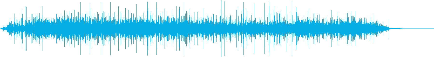 【生録音】ジューっと食材が焼ける音 2の再生済みの波形