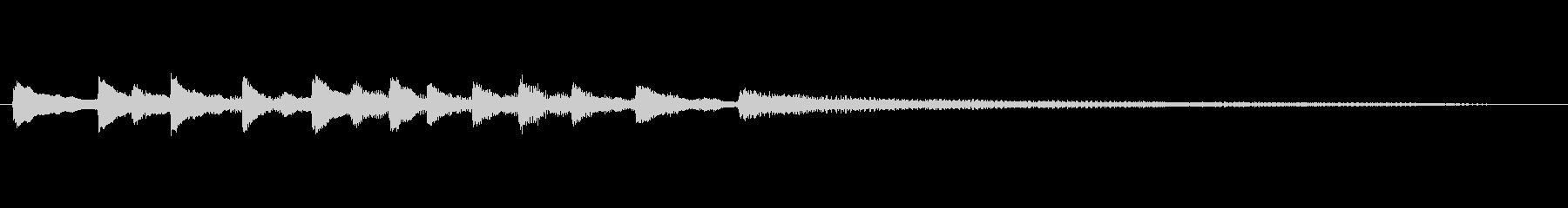 Dialogue5の未再生の波形