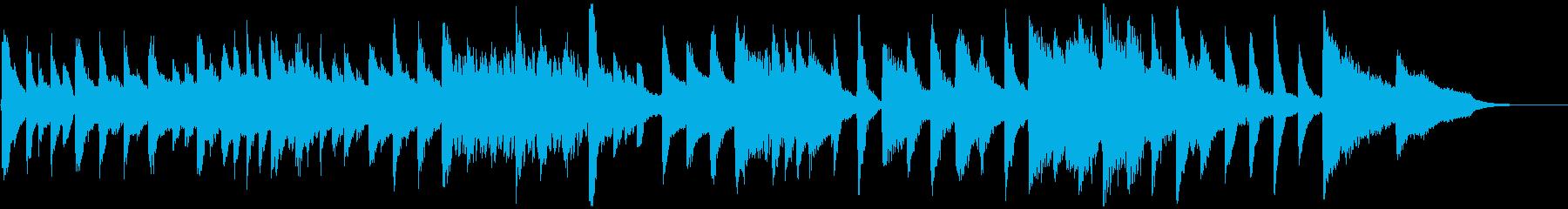 子供向け教育番組をイメージしたBGMの再生済みの波形