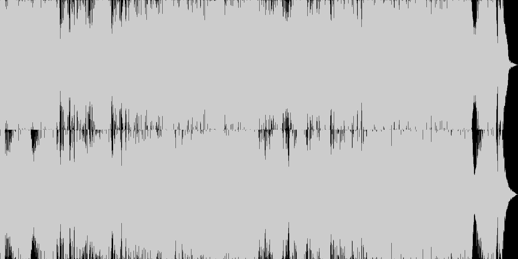 映画・ゲーム用バトルBGM16の未再生の波形