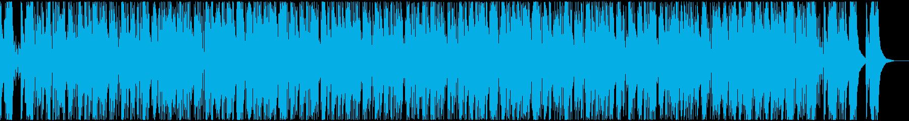 シンセが醸しだす哀愁のタンゴの再生済みの波形