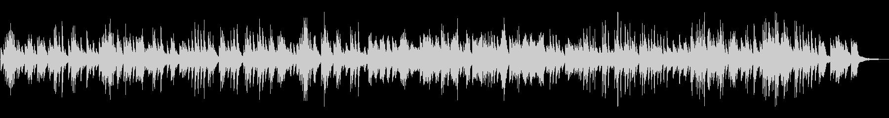 ジャズ風ラウンジピアノソロ/バラードの未再生の波形