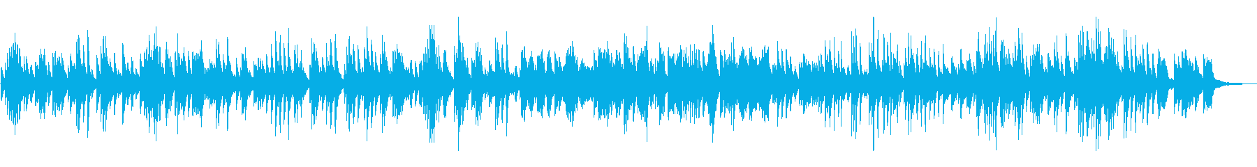 ジャズ風ラウンジピアノソロ/バラードの再生済みの波形