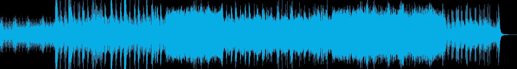 春の桜風情のピアノBGMの再生済みの波形