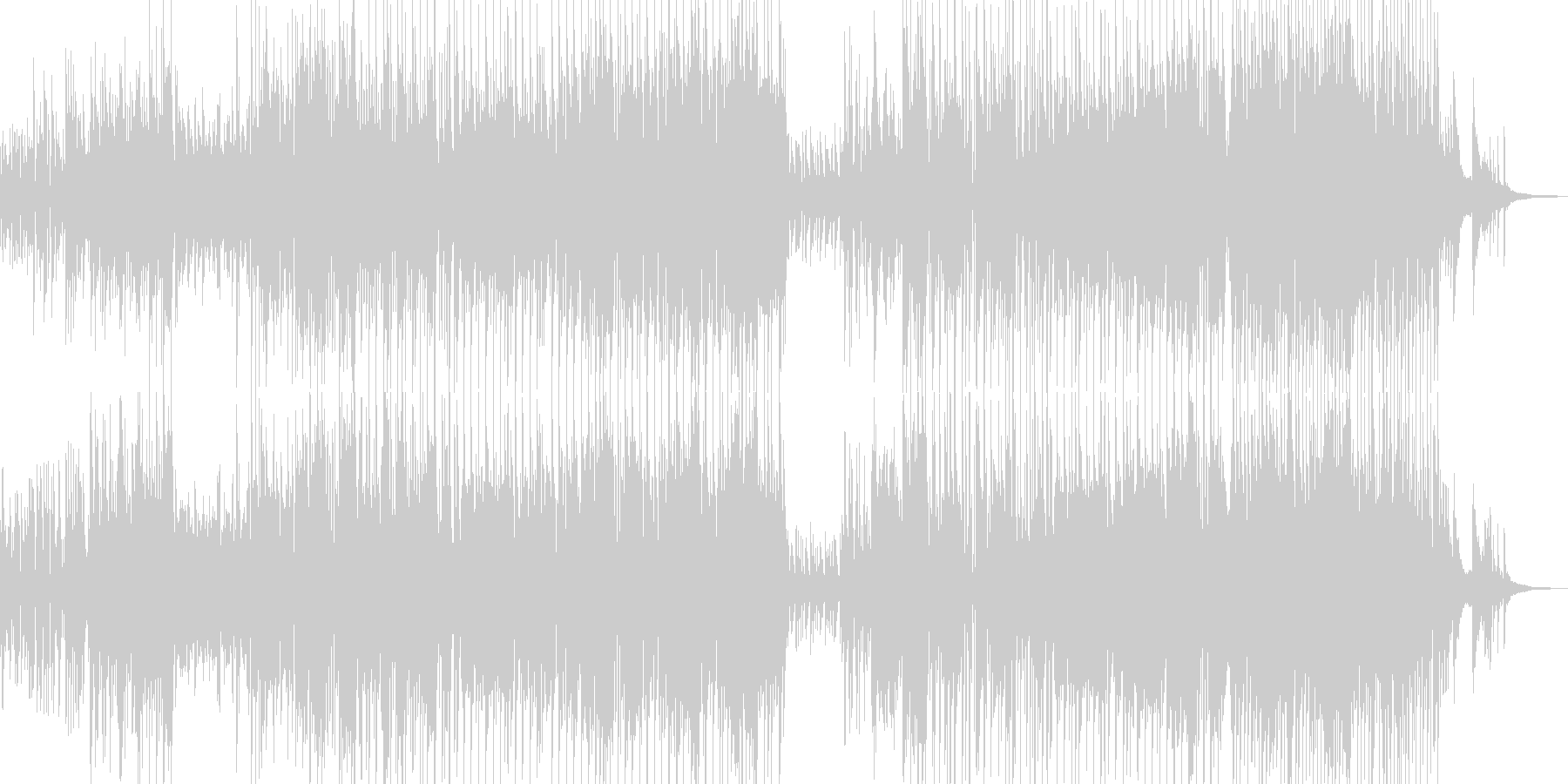 木管とピアノ・軽快で可憐なジャズ Bの未再生の波形