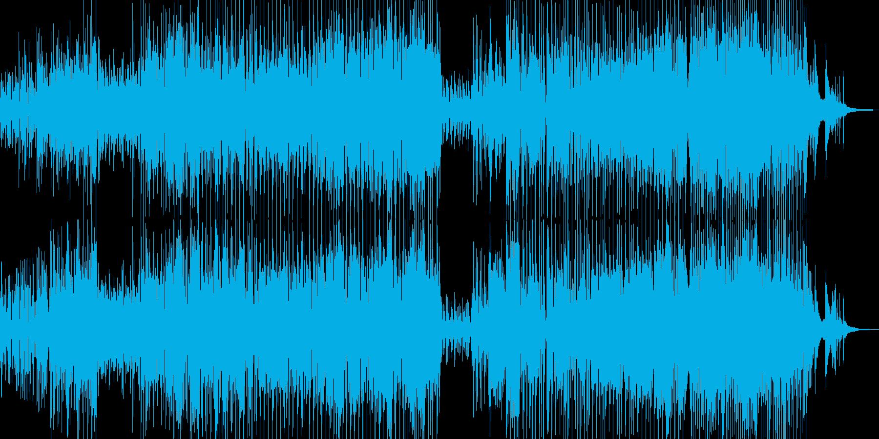 木管とピアノ・軽快で可憐なジャズ Bの再生済みの波形