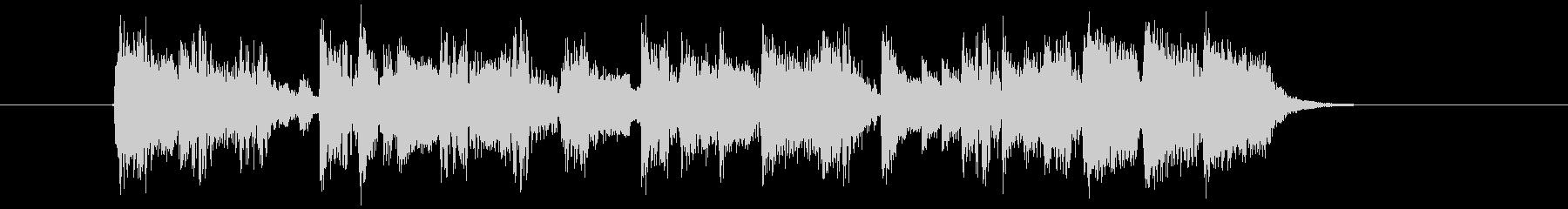 ワイルドでクールなパンクロックジングルの未再生の波形